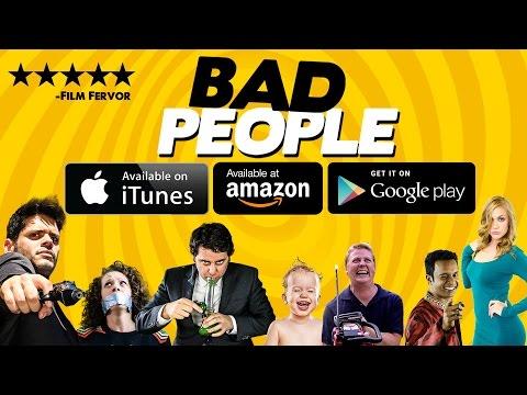 Ben Gleib in Bad People can't stop making Jeneta St. Clair laugh!