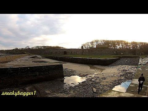DJI Phantom 2 Vision Plus at Castletown Harbour (Low Tide)