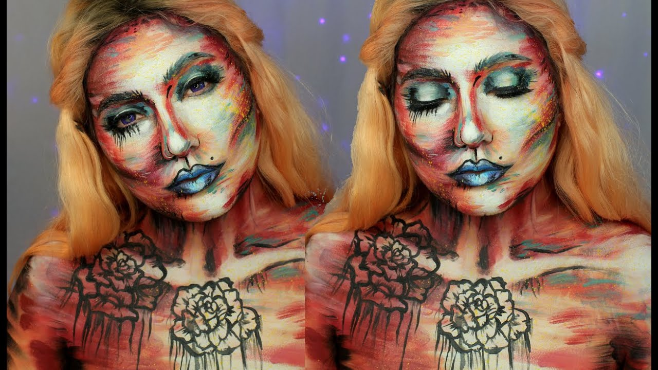 Liquid Latex Body Paint Tutorial