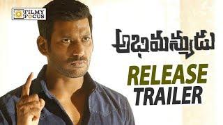 Abhimanyudu Movie Release Trailer || Vishal, Samantha, Arjun - Filmyfocus.com