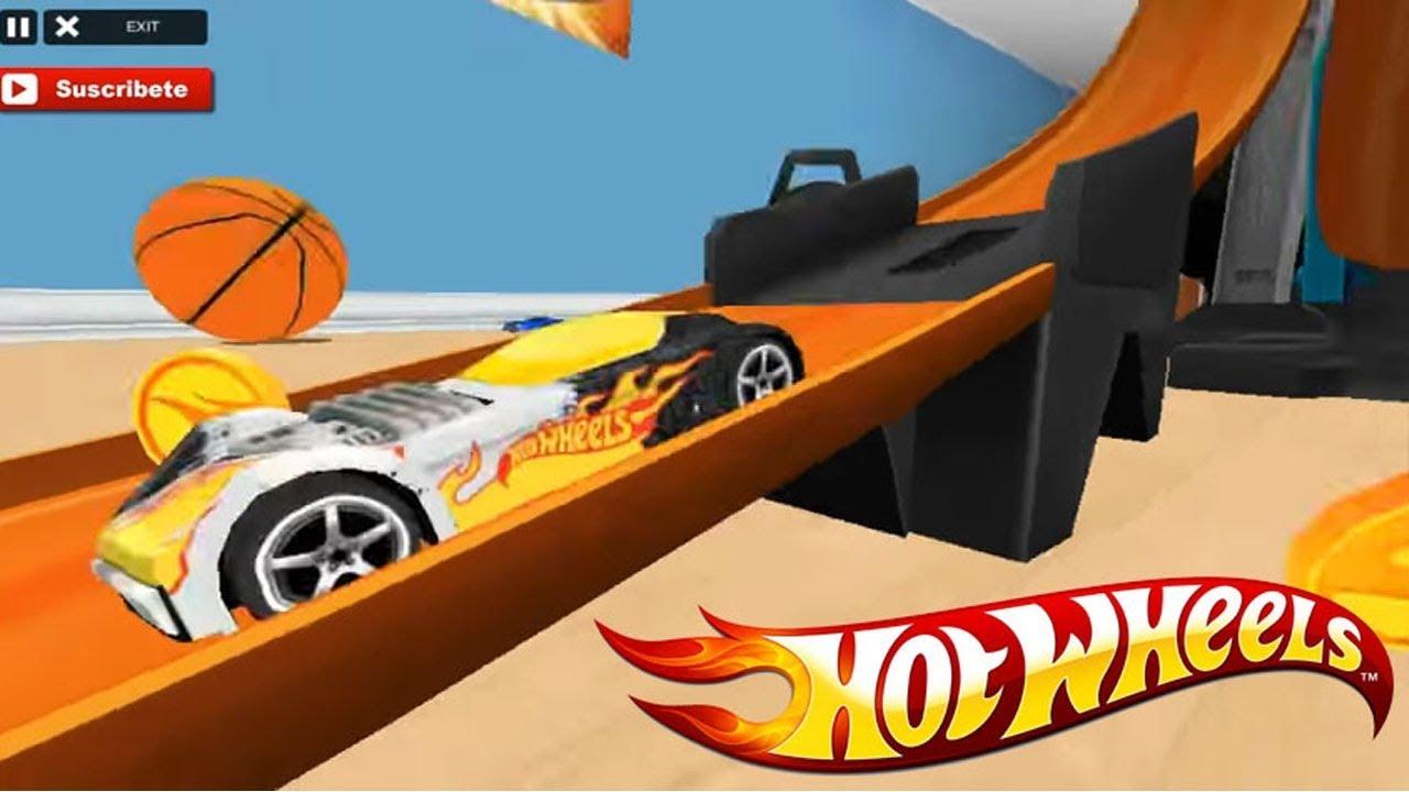 Juego De Autos 119 Hot Wheels Track Builder Youtube