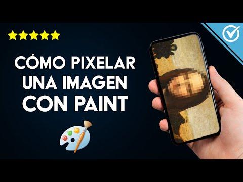 Cómo Pixelar o Difuminar una Imagen o foto Parcial o Completamente con Paint, Gimp
