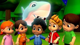 Scary Flying Shark | Scary Videos For Kids | Halloween Nursery Rhymes