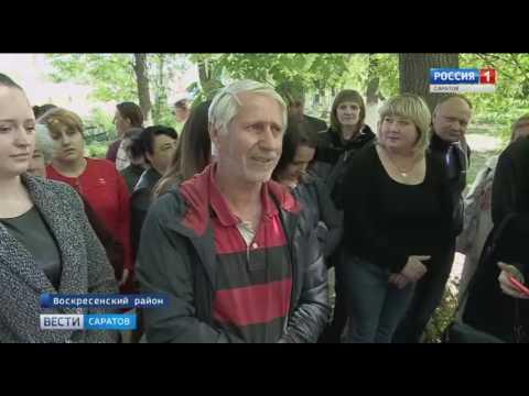 Валерий Радаев посетил Воскресенский район