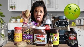 I ONLY ate BROWN food for 24 HOURS! iMPOSSiBLE