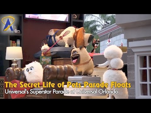 The Secret Life of Pets added to Superstar Parade at Universal Studios Florida