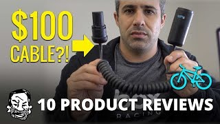 10 Product Reviews Loosely Related to Mountain Biking