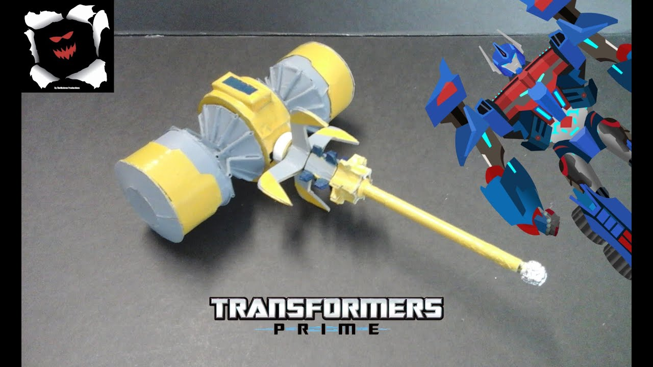 Transformers Prime Custom Forge Of Solus Prime Youtube