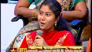 Neeya Naana Promo video 02-09-2015 husband and wife regarding food | Vijay tv Sunday show Neeya Naana Promo 2nd august 2015