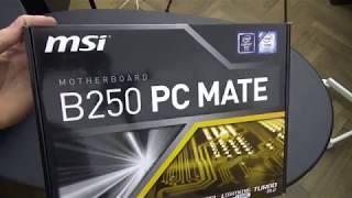 Motherboard MSI B250 PC MATE Socket LGA 1151 (blogoteca.eu)