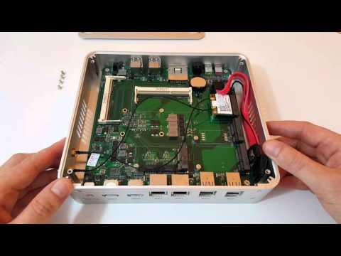 Смотреть Intel i5 5257U Iris 6100 Fanless $293 Barebones Mini PC Unboxing онлайн