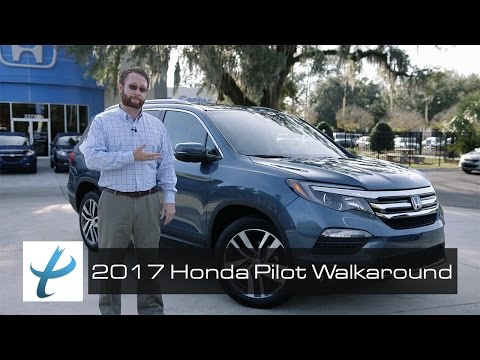 2017 Honda Pilot Elite Walk Around and Review (NEW)