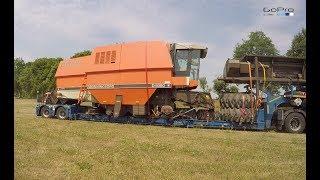 Dronningborg D9000 Jumbo - rozładunek kombajnu | Dronningborg D9000 Jumbo - unloading harvester