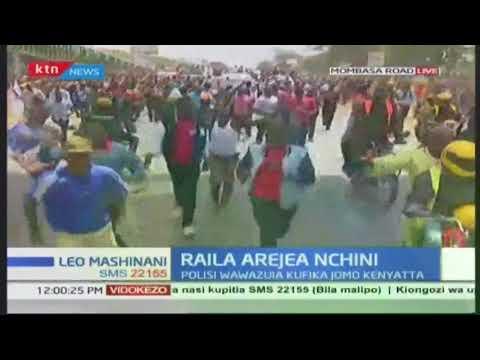 Kinara wa NASA Raila Odinga arejea nchini baada ya kuzuru ulaya