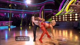 Download Video James Maslow and Peta Murgatroyd on Dancing Whit The Start MP3 3GP MP4