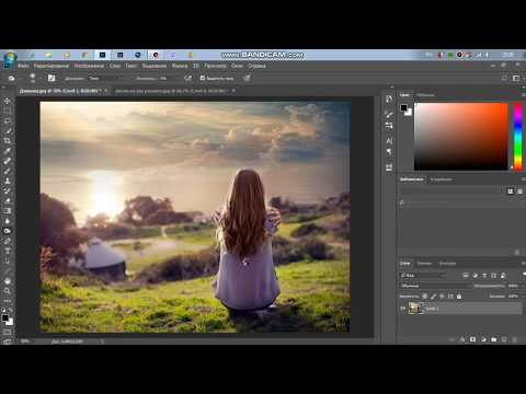 Объединение двух изображений в Photoshop без лишних слов