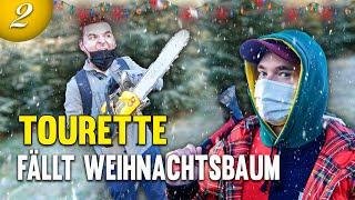 Tourette Alltagsvlog #3 Vom Weihnachtsbaum fällen mit Kettensäge zum Meeting | Weihnachtsgewitter