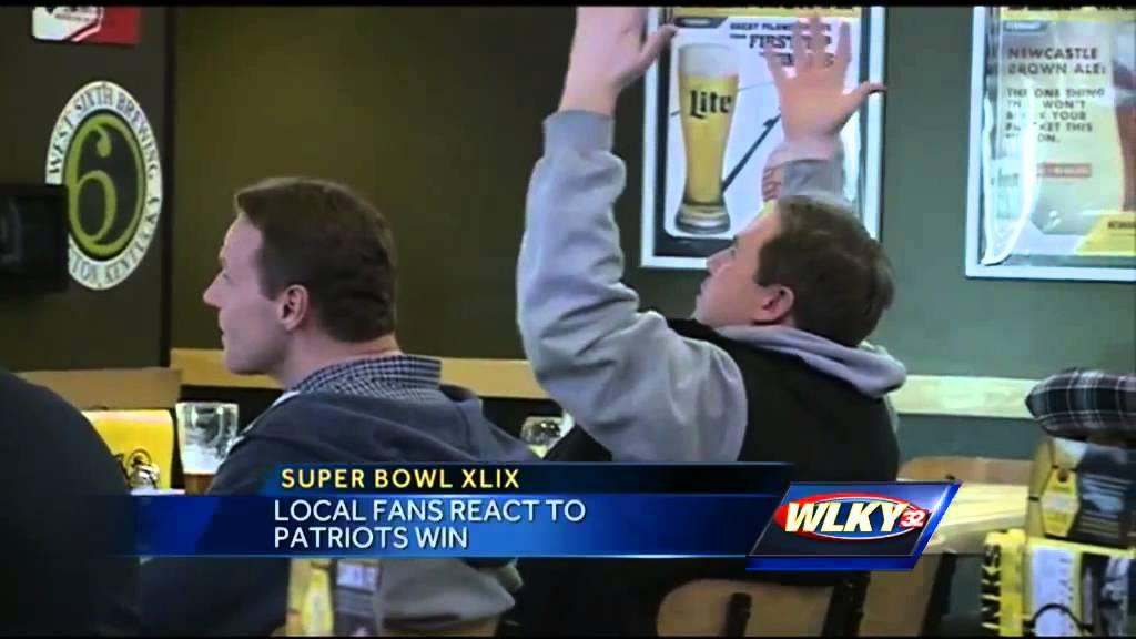 Fans React To Patriots Win, Seahawks Loss Youtube