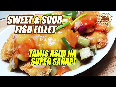 SWEET AND SOUR FISH FILLET  🐠 TAMIS ASIM NA NAPAKASARAP!