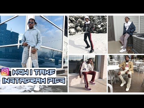 How I Take My Instagram Pictures (Tips + Tricks) | Mens Outfit Pictures 2018