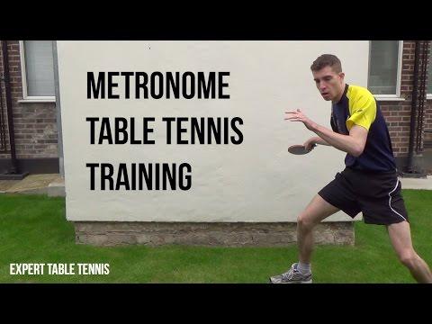 Metronome Table Tennis Training
