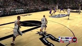 NBA 09 The Inside Los Angeles Lakers vs San Antonio Spurs