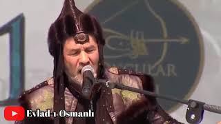 Arslanbek Sultanbekov' ERDOĞAN için DOMBIRA şarkısını söyledi Malazgirt'te BAŞKOMUTAN