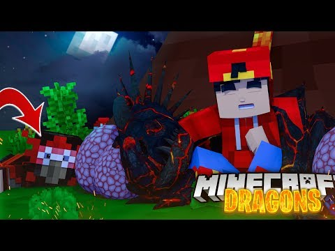 Minecraft DRAGONS - THE FIRE NATION PUT EVIL DRAGON EGGS IN OUR NATION!!