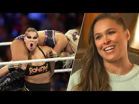 Stunts, Stitches and Scripts – Ronda Rousey on Life in WWE