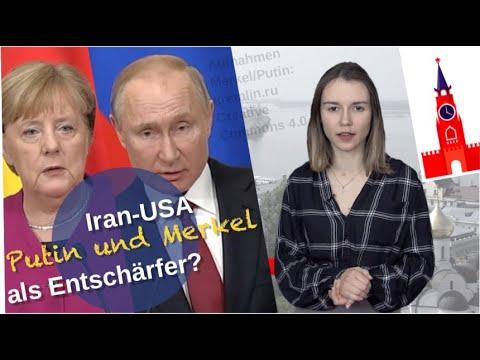 Iran-USA: Putin und Merkel als Entschärfer?