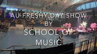 AU Freshy gün Müzik Okulu ve gece 2019 + MAU Boom + AU Boom