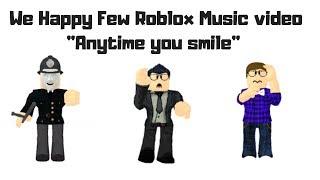 """Lukas - ROBLOX Nous avons heureux quelques clips vidéo """"Anytime you smile"""" - Musique par JT Music"""