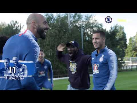 Chelsea FC Darts Challenge with Eden Hazard, Willian, Jorginho & Willy Caballero