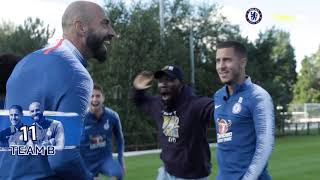 Chelsea FC Darts Challenge with Eden Hazard, Willian, Jorginho & Willy Caballero