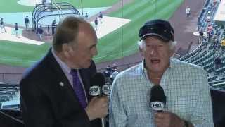 Dick Enberg chats with Bob Uecker
