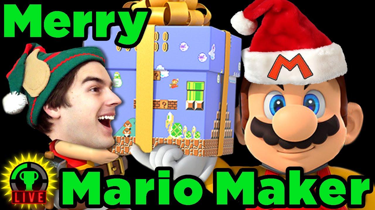 GTLive: A Merry Mario Maker Live Stream - GTLive: A Merry Mario Maker Live Stream