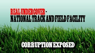 Real Undercover - A Visit To The Brand New National Athletic Facility And Synthetic Track