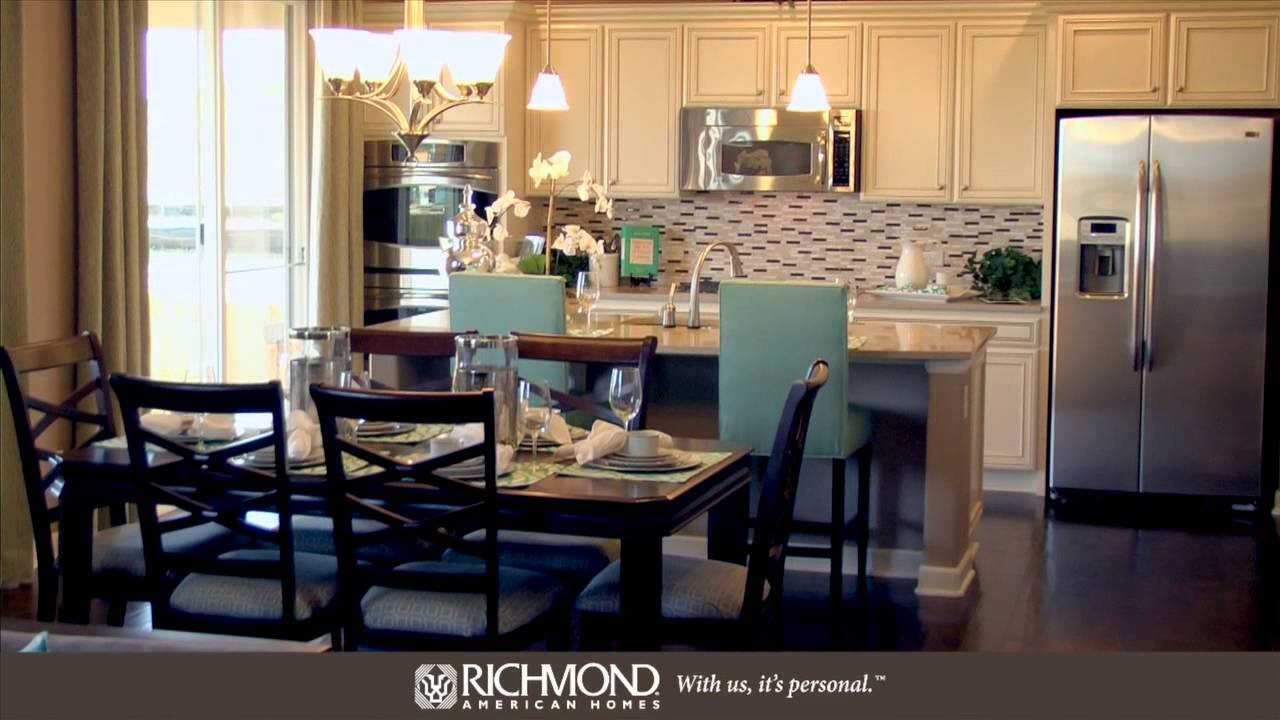 The Hemingway Floor Plan By Richmond American Homes Youtube