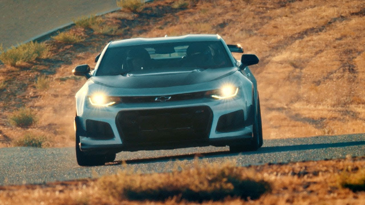 The Chevrolet Camaro Zl1 1le Top Gear Series 25 Youtube