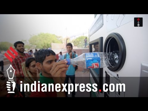 Reverse Vending Machine: Delhi Finds A New Way To Recycle