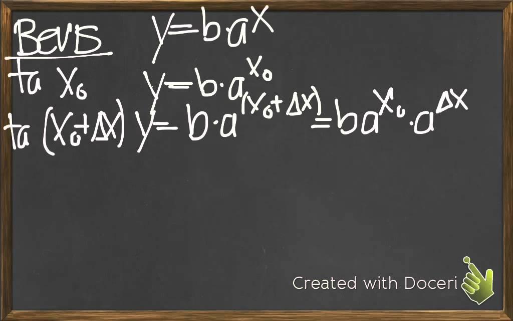 Eksponentielle funktioner - Relativ tilvækst