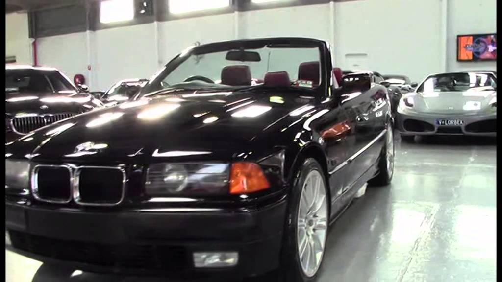 Bmw 328i Convertible >> BMW 328i E36 Convertible 1996 Black SN1009456 - YouTube