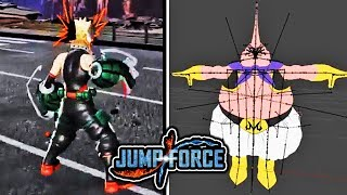 FAT BUU DLC COMING TO JUMP FORCE! Bakugo & Buu DLC Gameplay Leaks & Datamine