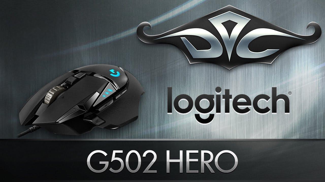 Обзор Logitech G502 HERO улучшенной игровой мыши — Отзывы