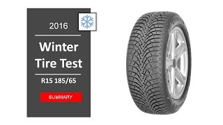 TOP 10 Best winter tires R15 2016