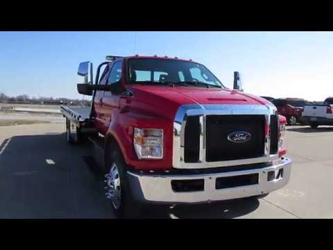 2019 Ford F750 Extended Cab With Century 21ft LCG Steel Bed