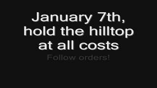 Sabaton - Hill 3234 (lyrics) HD
