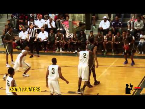 Douglas County HS drills Lithia Springs / Brandon Robinson has dunk of the game
