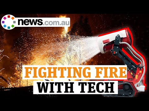 The Hi-tech Ways Australia Is Fighting Fires