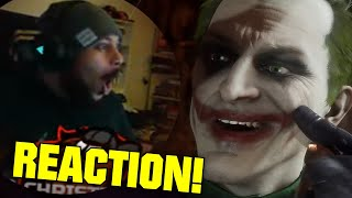 ChristianBMonkey REACTS: Mortal Kombat 11 Kombat Pack - The Joker Official Gameplay Trailer!